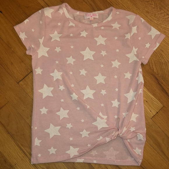 Poof! Other - Poof Girl ❤️ shirt with white stars youth large